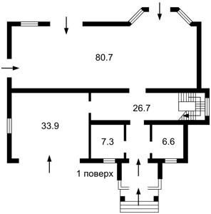 Будинок Лебедівка (Вишгородський), Z-386135 - Фото 2