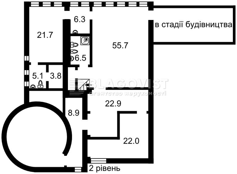 Квартира D-32897, Назаровская (Ветрова Бориса), 7б, Киев - Фото 4