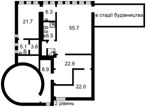 Квартира Назаровская (Ветрова Бориса), 7б, Киев, D-32897 - Фото 3