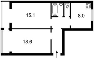 Квартира Новогоспитальная (Щорса пер.), 5а, Киев, X-19431 - Фото2