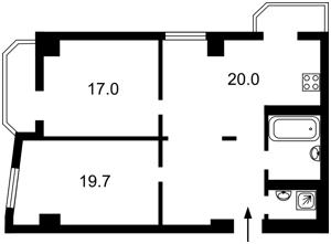 Квартира Гарматная, 37а, Киев, C-104213 - Фото2