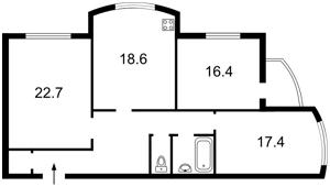 Квартира Лобановського просп. (Червонозоряний просп.), 126г, Київ, X-36932 - Фото2