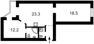 Квартира Саксаганського, 131а, Київ, D-32944 - Фото2