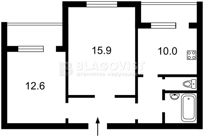 Квартира Z-1134606, Героев Днепра, 32г, Киев - Фото 4