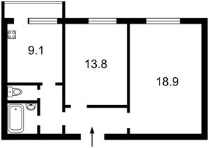 Квартира Григоренка П.просп., 3б, Київ, Z-1473483 - Фото2