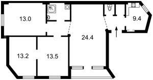 Квартира Пушкинская, 43в, Киев, Z-215634 - Фото2