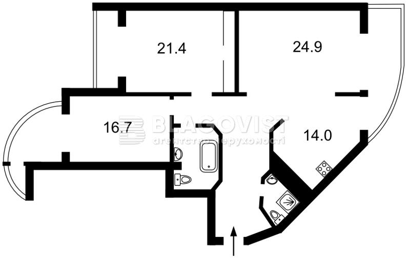 Квартира H-13795, Леси Украинки бульв., 7б, Киев - Фото 5