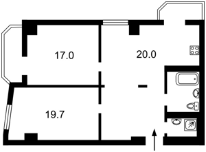 Квартира Гарматная, 37а, Киев, C-104215 - Фото 2