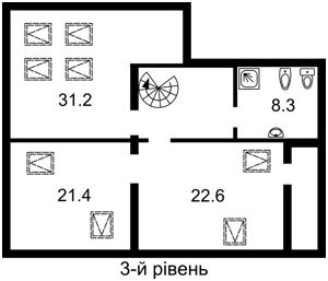 Квартира Тургеневская, 52/58, Киев, H-40165 - Фото 4