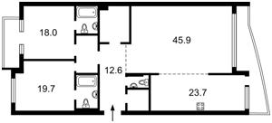 Квартира Окипной Раиcы, 18, Киев, C-104243 - Фото2