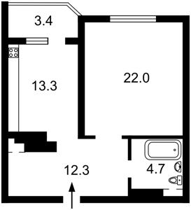 Квартира E-36507, Мишуги Александра, 8, Киев - Фото 7