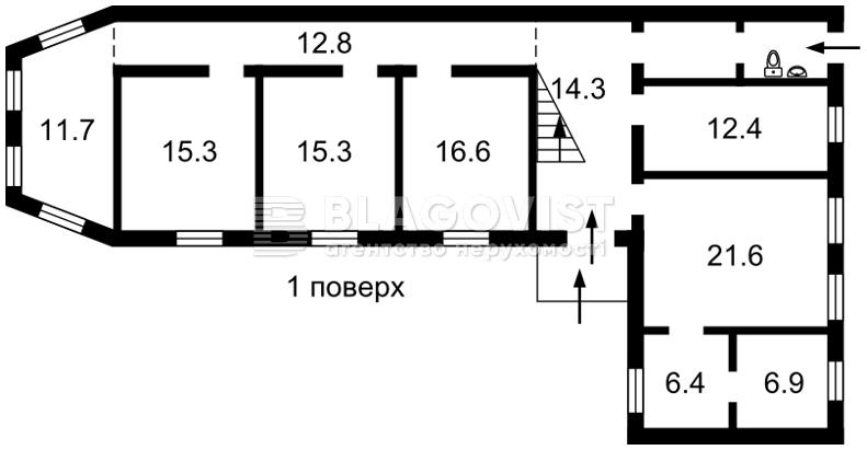 Будинок, F-38568, Одеська, Київ - Фото 3