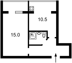 Квартира Зодчих, 62а, Киев, Z-185783 - Фото2