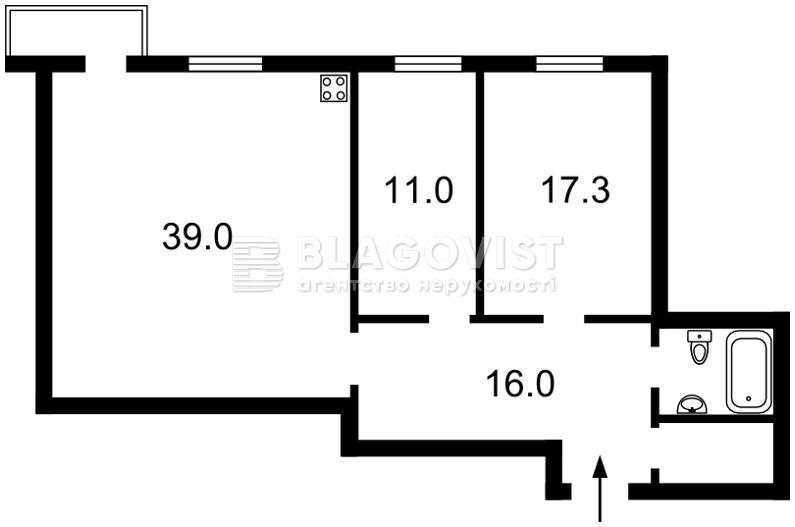 Квартира Z-1652896, Ушинского, 14б, Киев - Фото 5