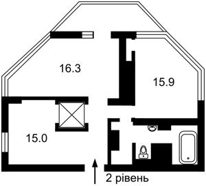 Квартира Болсунівська (Струтинського Сергія), 2, Київ, Z-244914 - Фото 3