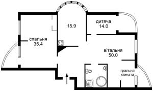 Квартира Срибнокильская, 14, Киев, B-77102 - Фото 2