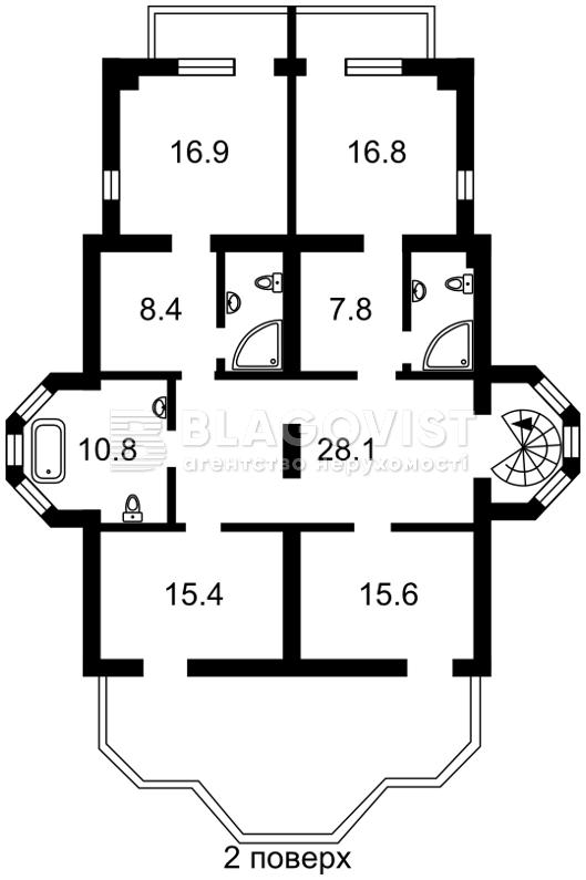 Дом A-107867, Яблуневая, Гора - Фото 4
