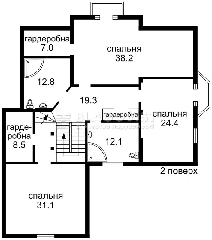 Дом R-10009, Набережная, Вишенки - Фото 5