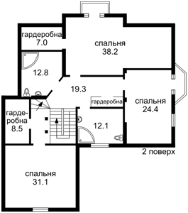 Дом Набережная, Вишенки, R-10009 - Фото 3