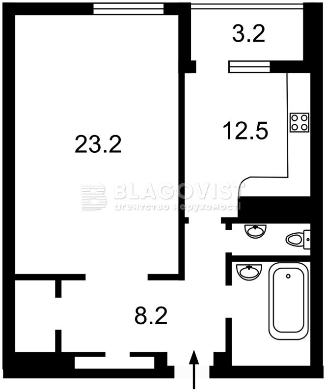 Квартира H-40485, Науки просп., 30, Киев - Фото 6