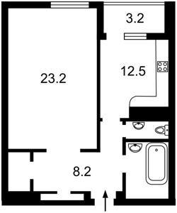 Квартира Науки просп., 30, Киев, H-40485 - Фото2