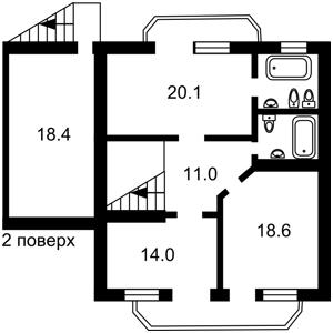 Дом Петровское (Бориспольский), Z-389745 - Фото 3