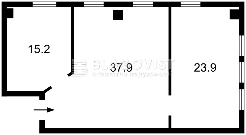 Нежитлове приміщення, C-104360, Антоновича (Горького), Київ - Фото 2