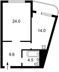 Квартира Героев Сталинграда просп., 2д, Киев, R-11224 - Фото2