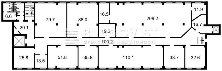 Офис, H-28242, Бульварно-Кудрявская (Воровского), Киев - Фото 2