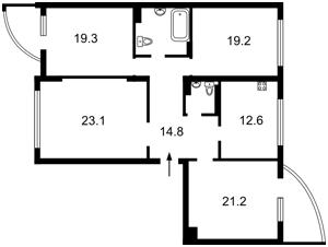 Квартира Златоустовская, 52, Киев, R-11173 - Фото2