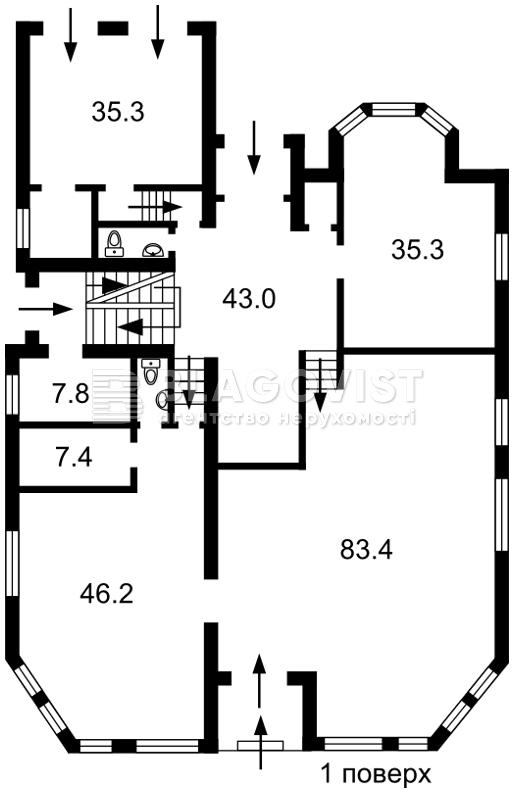 Дом F-38677, 14-й переулок, Гостомель - Фото 6