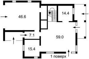 Дом Козин (Конча-Заспа), M-32062 - Фото1