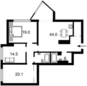 Квартира Глибочицька, 32б, Київ, R-11317 - Фото2