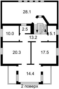 Дом Тринадцатая Садовая, Круглик, Z-181993 - Фото 4