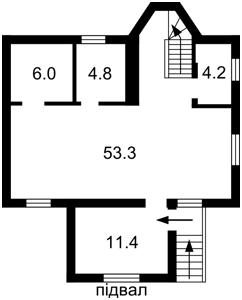 Дом Тринадцатая Садовая, Круглик, Z-181993 - Фото 2