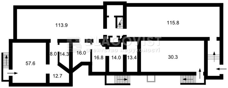 Нежилое помещение, D-33096, Сечевых Стрельцов (Артема), Киев - Фото 6