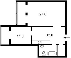 Квартира Бульварно-Кудрявская (Воровского) , 15, Киев, D-33098 - Фото2