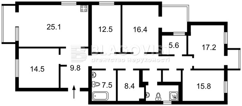Квартира F-38774, Козловского Ивана пер., 4, Киев - Фото 5