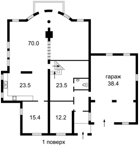 Будинок Вишеньки, C-104333 - Фото1