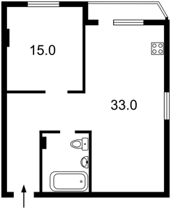Квартира Западная, 10, Киев, R-11824 - Фото2