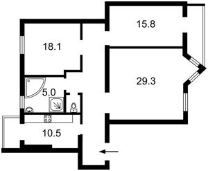 Квартира Институтская, 16, Киев, Z-222025 - Фото2