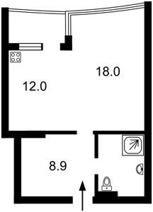 Квартира Вишгородська, 45, Київ, Z-1647365 - Фото2