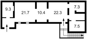 Нежилое помещение, Большая Васильковская, Киев, Z-68426 - Фото2