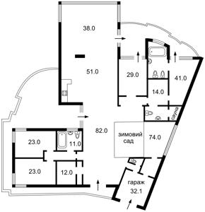Дом Козин (Конча-Заспа), A-105372 - Фото 2