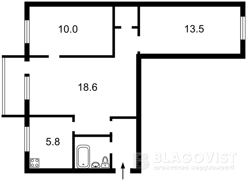 Квартира Z-82877, Сокальська, 11, Київ - Фото 2