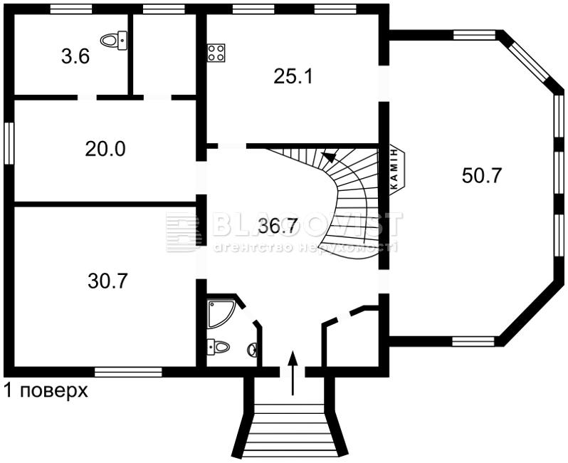 Дом H-40728, Солнечная, Бровары - Фото 3
