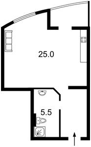 Квартира Ахматовой, 45, Киев, X-31503 - Фото2