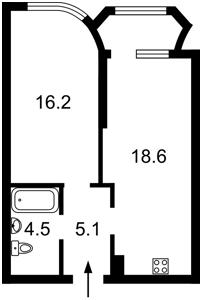 Квартира Завальная, 10г, Киев, H-40491 - Фото2
