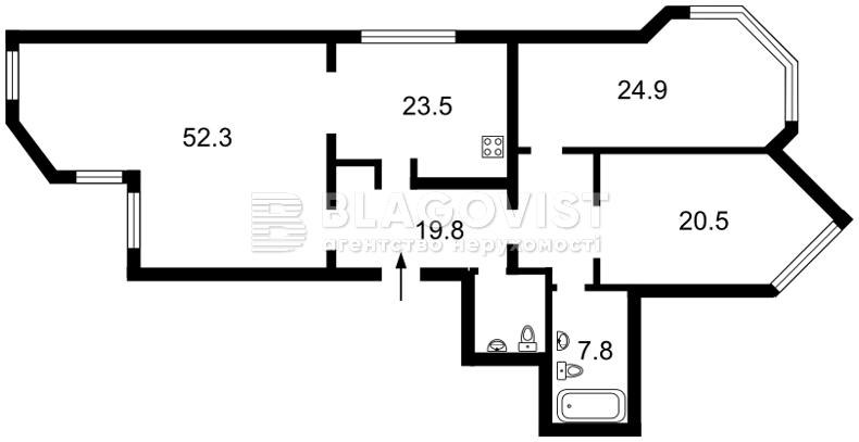 Квартира P-20751, Героїв Сталінграду просп., 24, Київ - Фото 6
