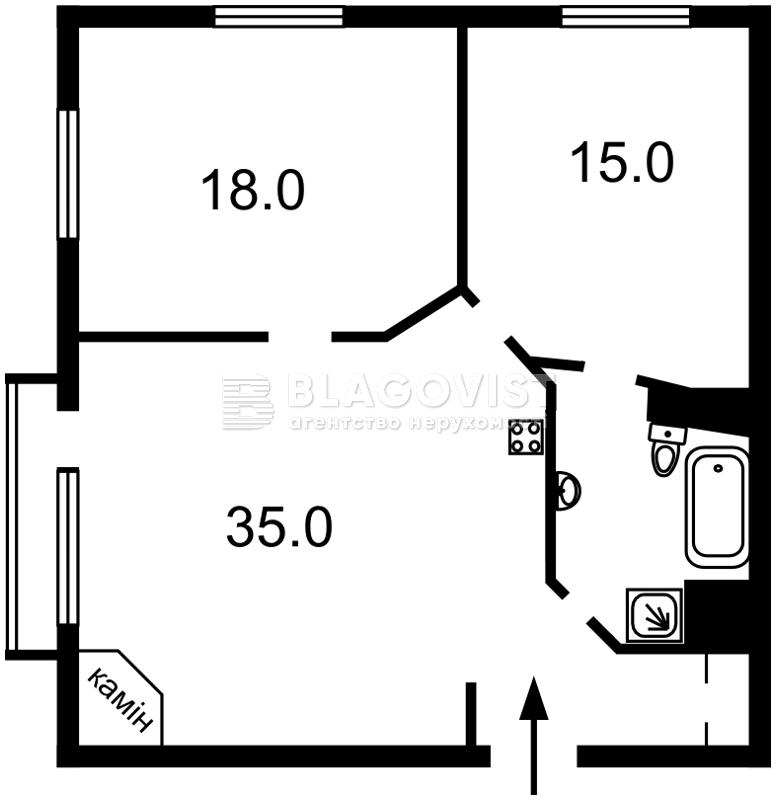 Квартира Z-1545078, Крещатик, 25, Киев - Фото 5